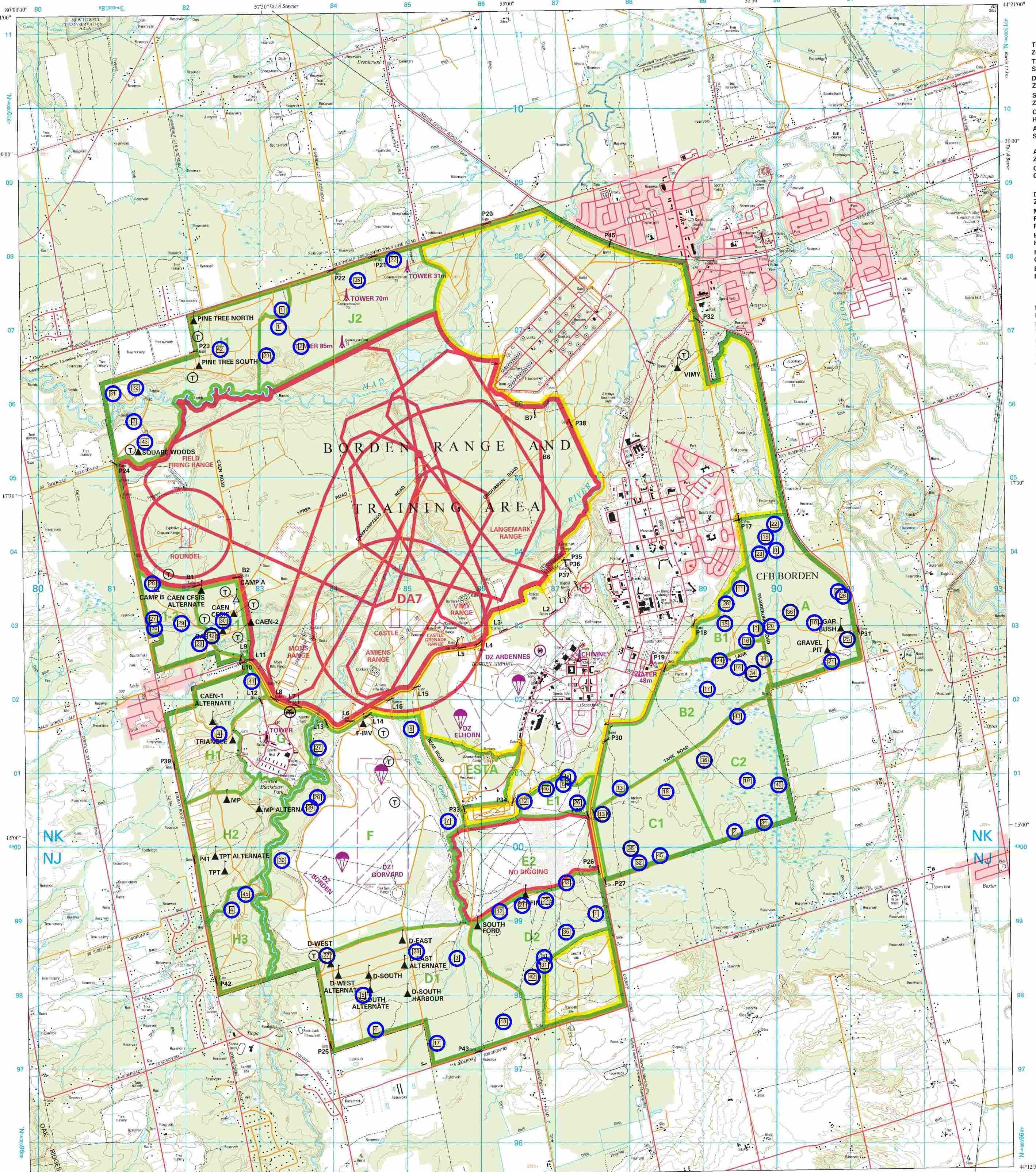 Cfb Borden Map Cfb Borden Map | compressportnederland Cfb Borden Map